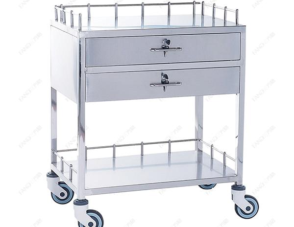 不锈钢换药车JHTC-04